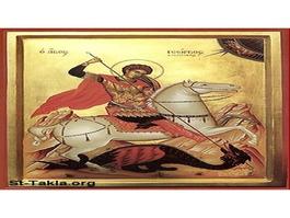 الرهبنة الأرثوذكسية في دير القديس جاورجيوس دير الحرف